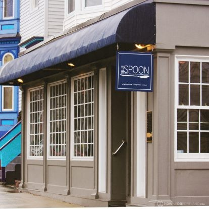 Blue Spoon Exterior