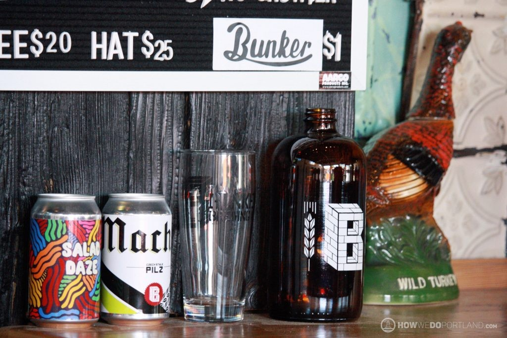 Bunker Brewing Beers & Merch