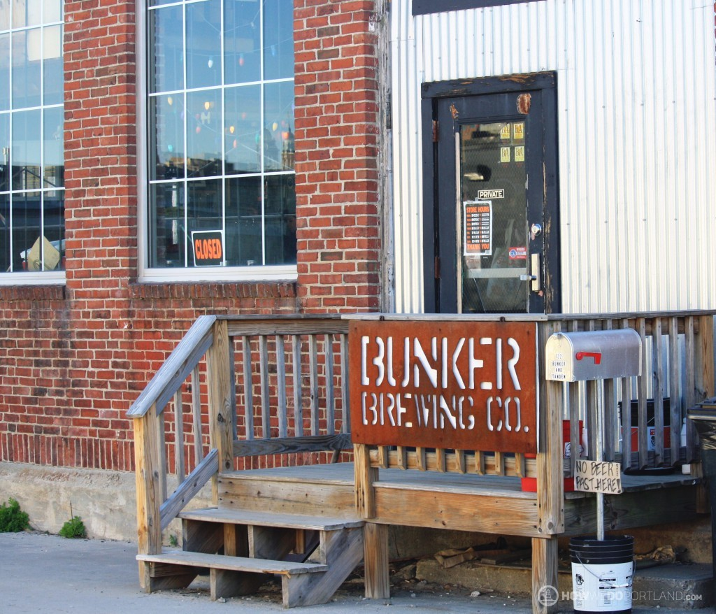 Bunker Brewing Entry