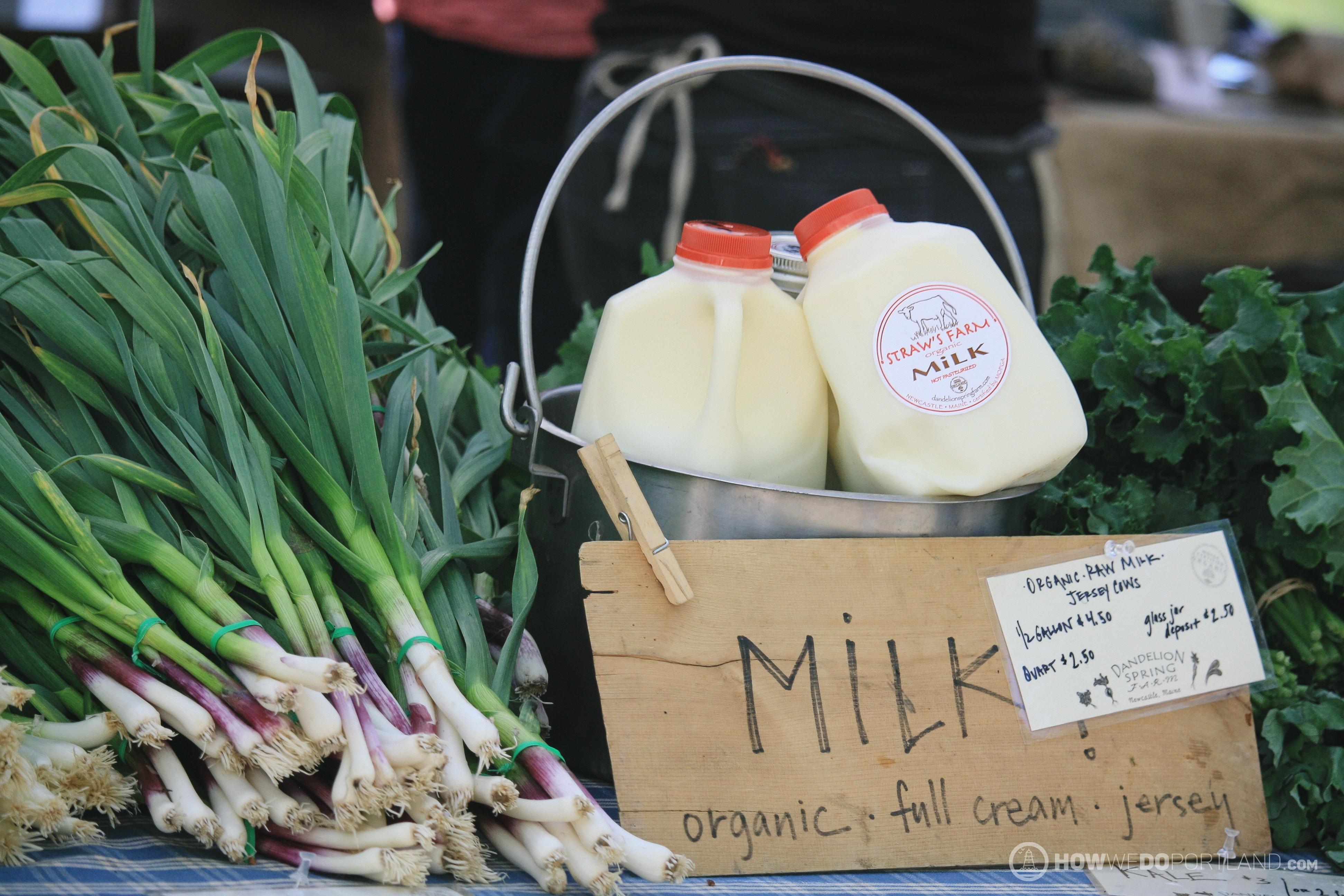 Fresh Organic Local Milk
