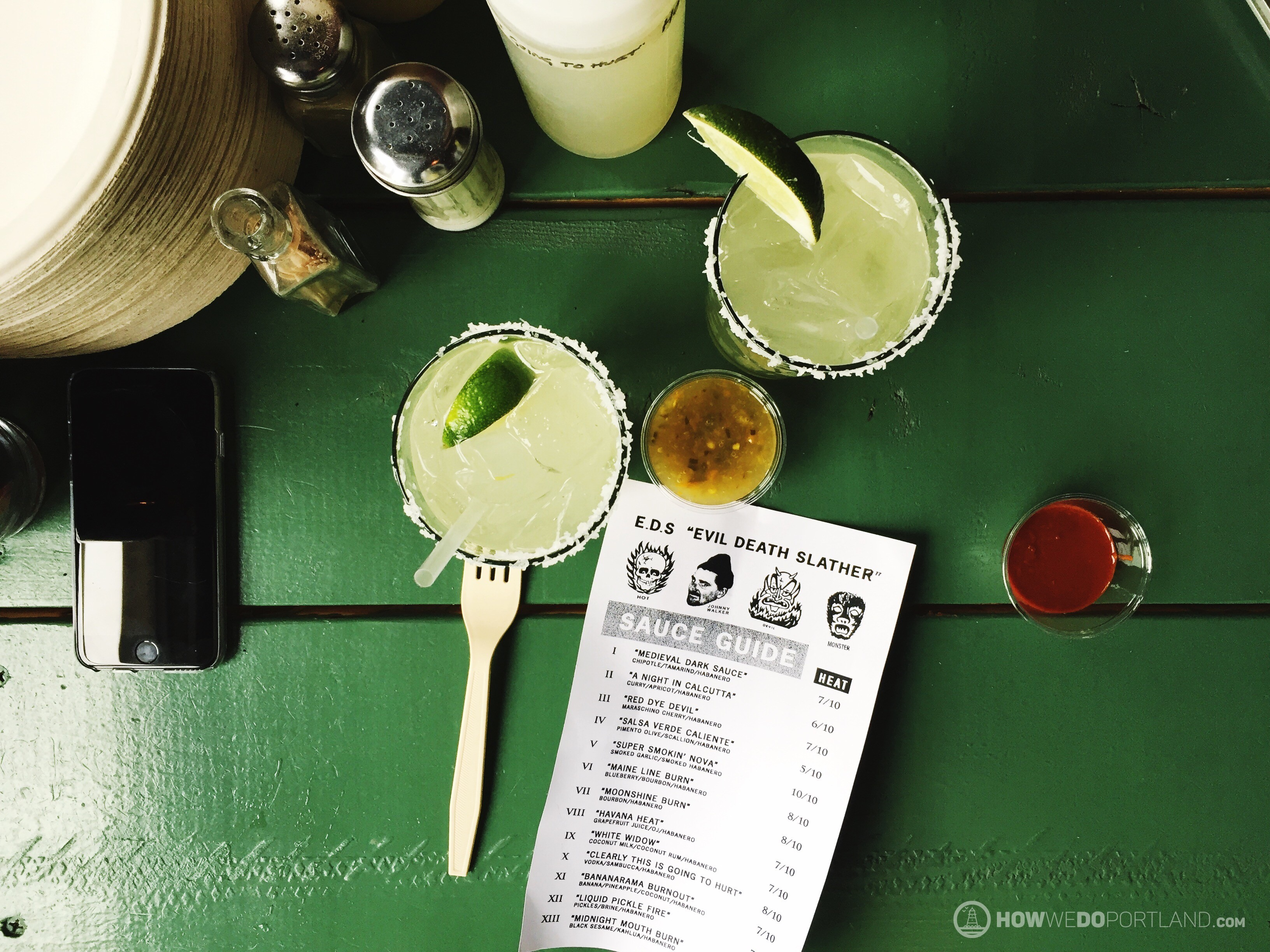 Salvage BBQ Margaritas