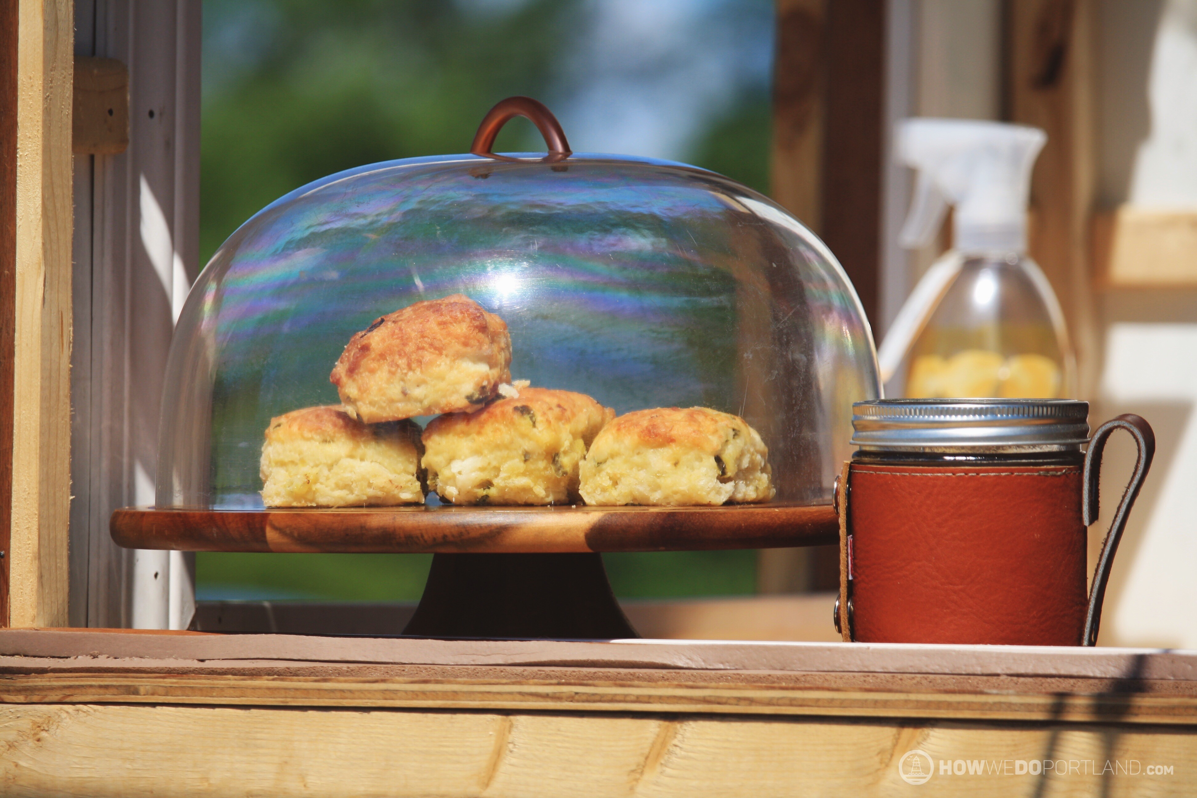 Jalapeno Chedder Biscuits at Maker's Mug