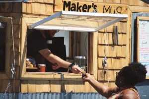 Makers Mug Coffee Cart