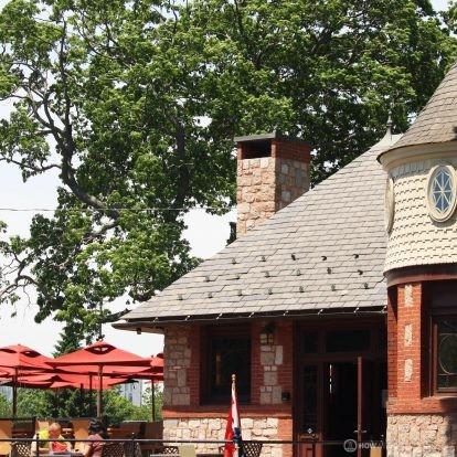Tiqa Cafe & Bakery in the Castle at Deering Oaks Park