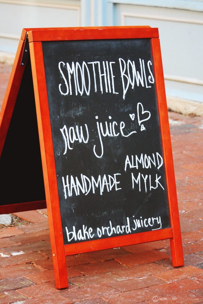 Smoothie Bowls & Juice at Blake Orchard Juicery