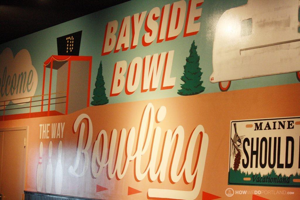 Bayside Bowl Mural