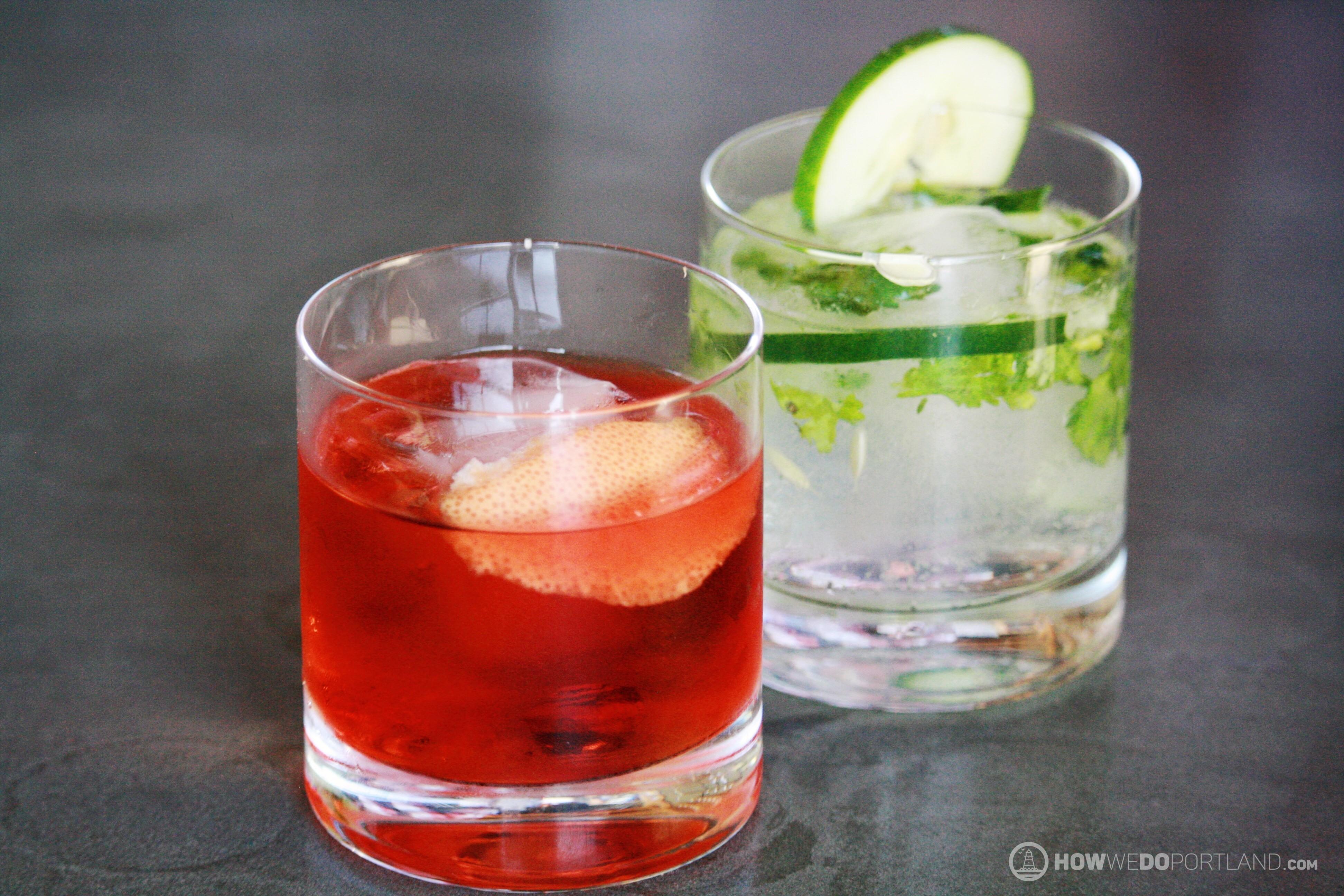 Hardshore Gin Cocktails