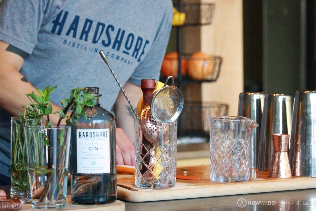 Mixing Libations at Hardshore Distilling