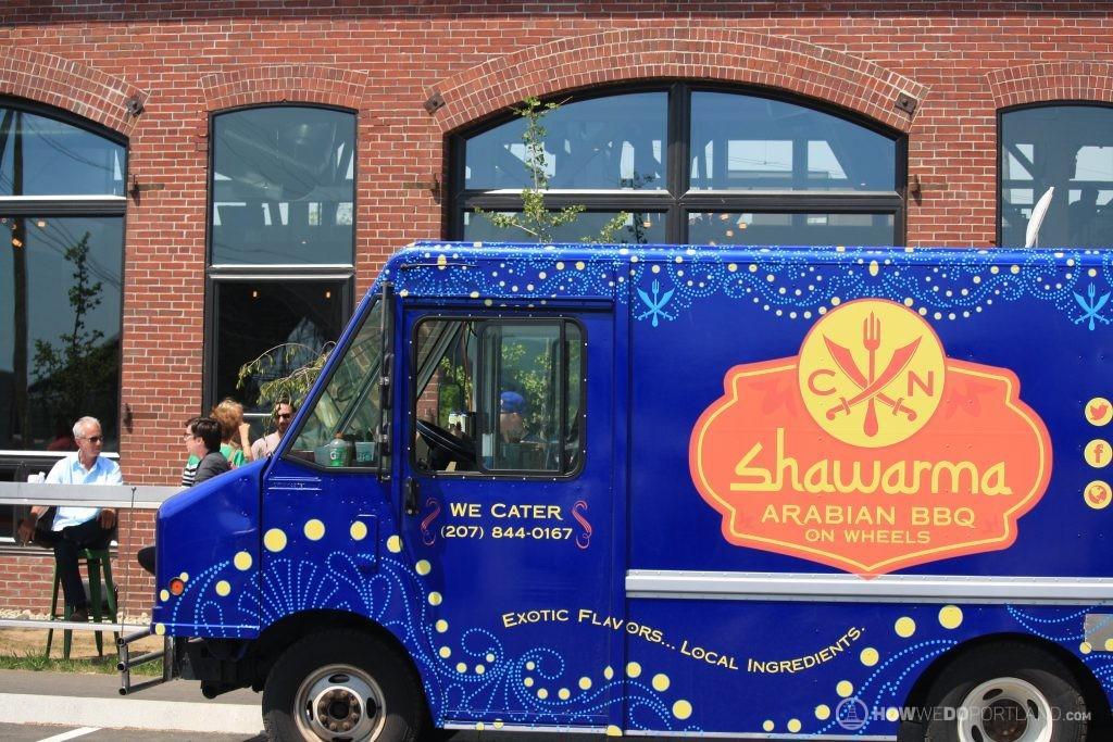 Shawarma Food Truck