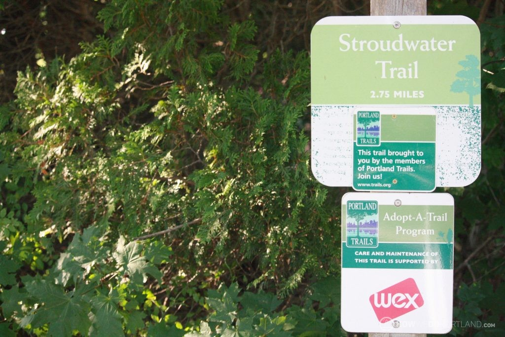 Stroudwater Trail: Signs with Trail Info