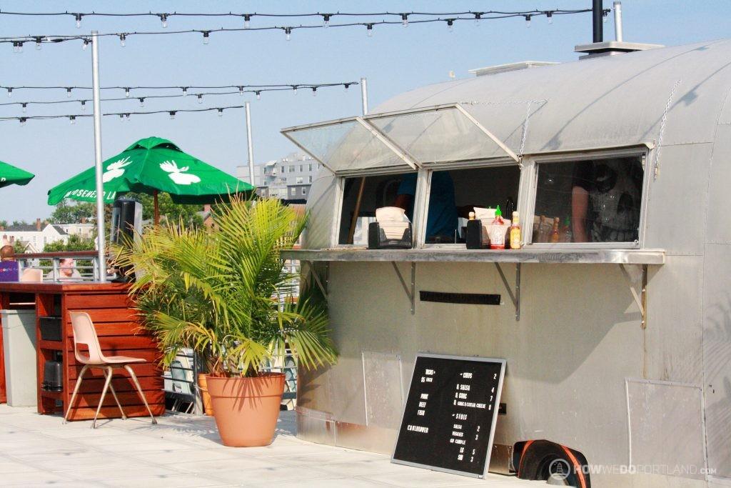 Tacos at Bayside Bowl Rooftop