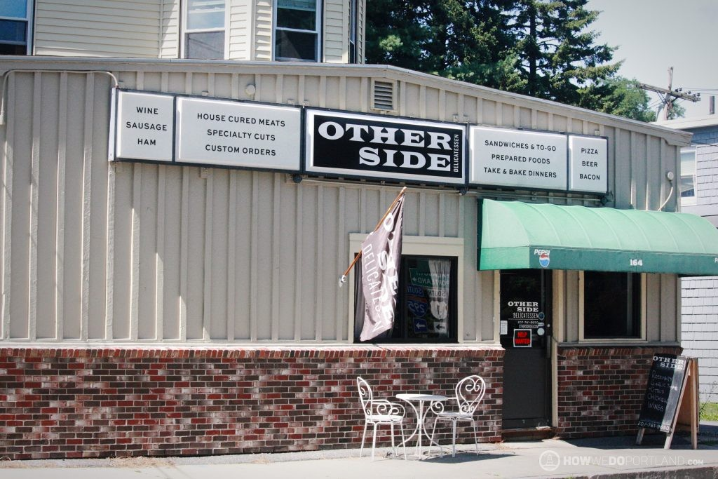 The Other Side Deli Veranda-Local Grocery Stores in Portland Maine