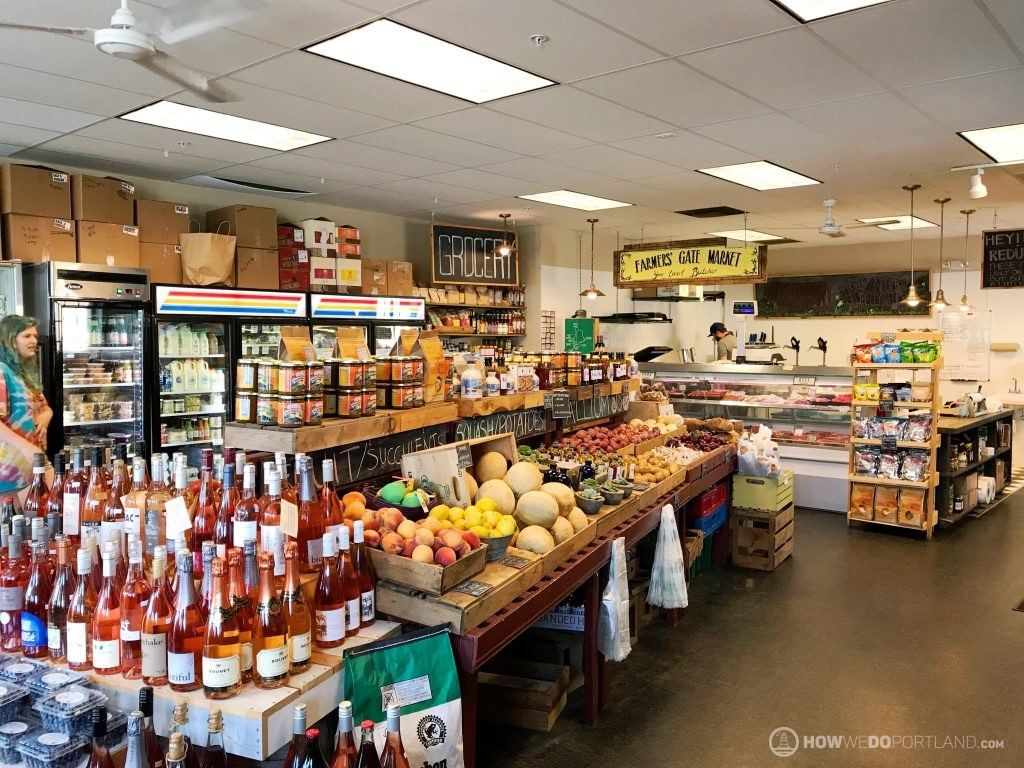 The Farm Stand Interior-Local Grocers Portland Maine