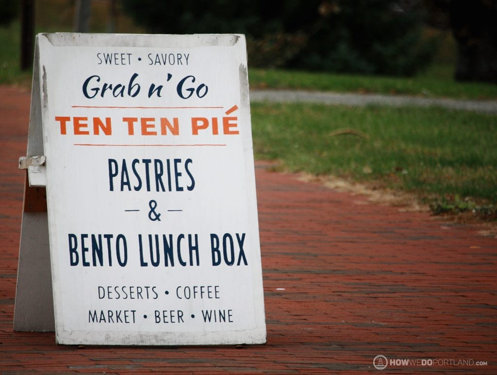 Sweet & Savory Pastries at Ten Ten Pie Portland Maine