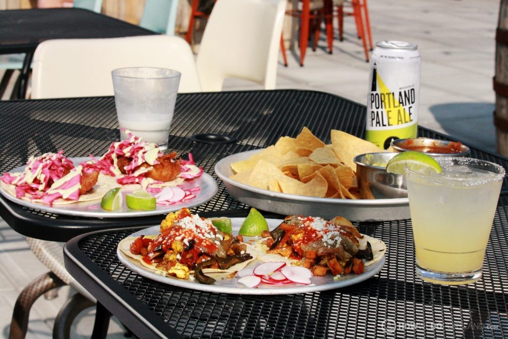Cauliflower Tacos at Bayside Bowl | 10 Best Food & Drink Items Portland Maine 2017