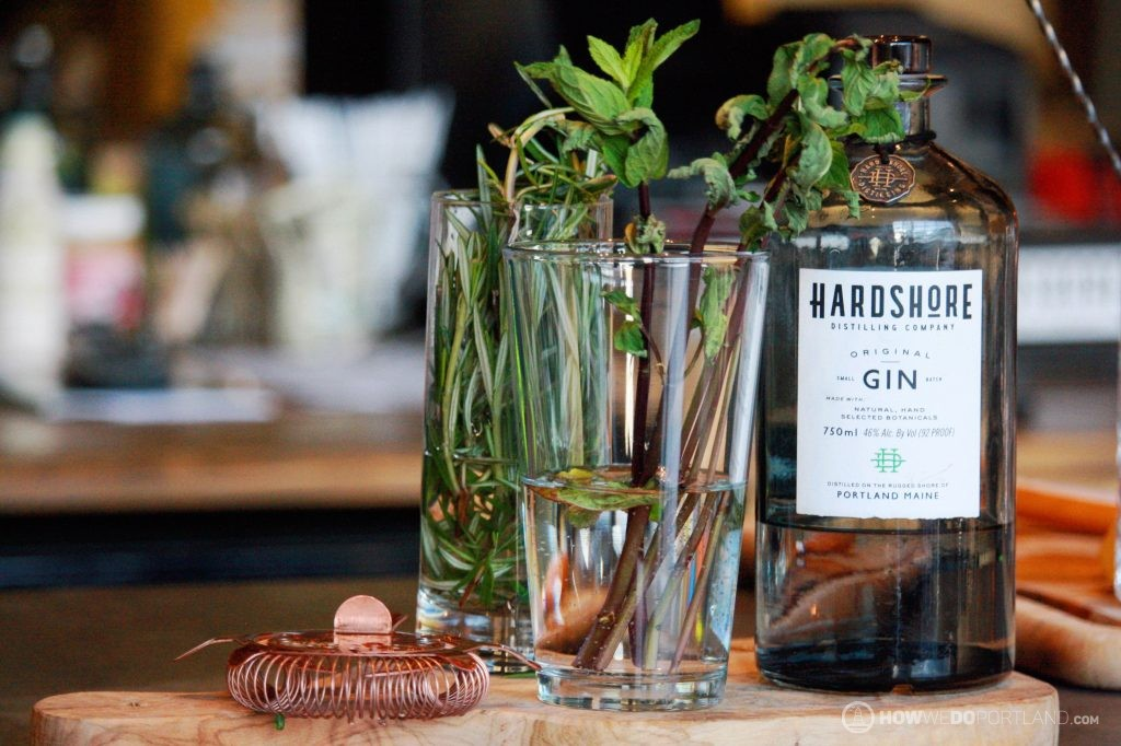 Hardshore Gin | 10 Best Food & Drink Items Portland Maine 2017