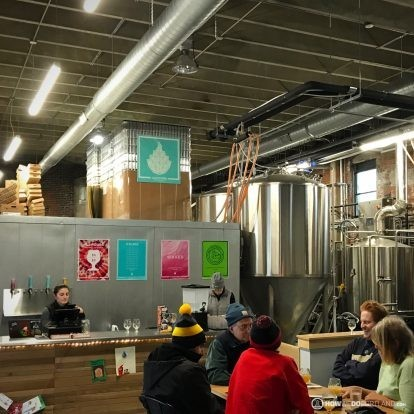 Goodfire Brewing Interior